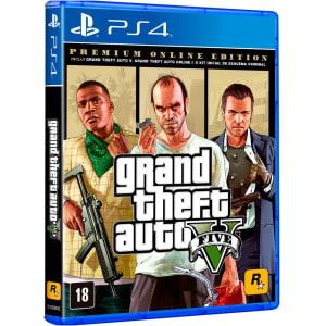 Game GTA V Premium Online Edition PS4