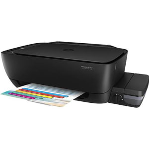 Impressora Multifuncional HP Deskjet GT 5822 Jato de Tinta Color Ink USB - Impressora + Copiadora + Scanner