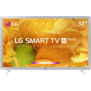 Smart TV Led 32'' LG 32LM620 HD Thinq AI Conversor Digital Integrado 3 HDMI 2 USB Wi-Fi