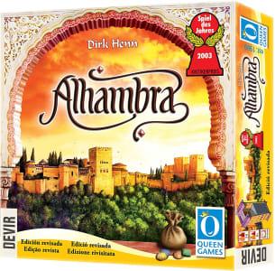 Jogo de Tabuleiro Alhambra Edição Revisada - Devir