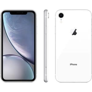 """iPhone XR Apple Branco 64GB, Tela Retina LCD de 6,1"""", iOS 12, Câmera Traseira 12MP, Resistente à Água e Reconhecimento Facial"""