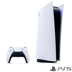 Console PlayStation® 5 Edição Digital com Controle sem fio DualSense™