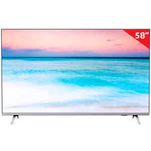 "Smart TV LED Philips 58"" PUG6654/78 4K HDMI USB com Sistema SAPHI e Wi-Fi Integrado"