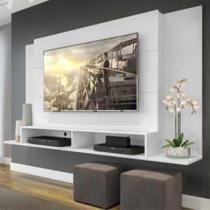 Painel Tókio Multimóveis para TV de até 60 Polegadas com Nicho - Branco - Magazine Ofertaesperta