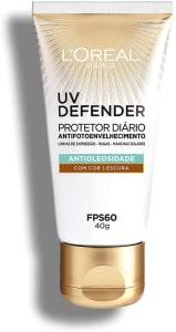 Confira ➤ Protetor Solar Facial LOréal Paris UV Defender Antioleosidade Cor Escura FPS 60 – 40g ❤️ Preço em Promoção ou Cupom Promocional de Desconto da Oferta Pode Expirar No Site Oficial ⭐ Comprar Barato é Aqui!