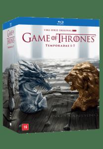 Blu-Ray Game Of Thrones - Temporadas Completas 1-7 - 35 Discos (Cód: 9911122)
