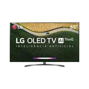 "Smart TV OLED 65"" LG OLED65B9 4K HDR com Dolby Vision - Atmos, Bluetooth, Inteligência Artificial 4 HDMI 3 USB"