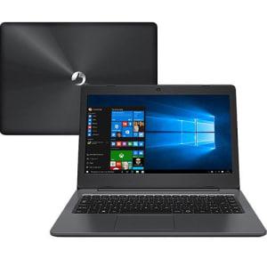 "Notebook Positivo Stilo XC3650 Intel Celeron Dual Core 4GB 500GB Tela LCD 14"" Windows 10 - Cinza Escuro"