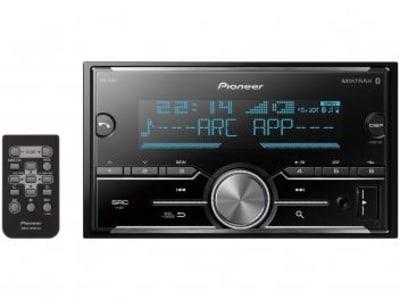 Central Multimídia Pioneer MVH-S618BT LCD - Bluetooth USB Auxiliar