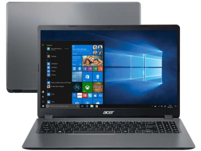 "Notebook Acer Aspire 3 A315-56-3090 Intel Core i3 - 8GB 256GB SSD 15,6"" Windows 10 - Magazine Ofertaesperta"
