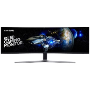 "Monitor Curvo LED 49"" Samsung LC49HG90DMLXZD 1ms 144hz Double Full HD UltraWide"