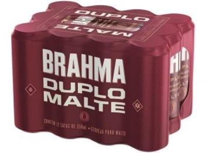 Cerveja Brahma Duplo Malte 350ml - 12 Unidades - Magazine Ofertaesperta