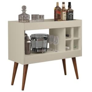 Aparador Bar Com Adega Coffee Break - Off White - Rpm Móveis