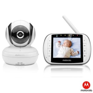 "Baba Eletrônica Motorola Tela 3.5"" Visão Noturna - Mbp36s"