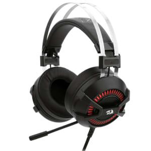 Headset Gamer Redragon P2 Preto e Vermelho BIO H801