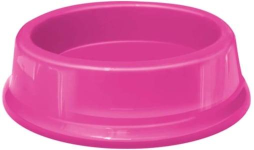 Comedouro Plástica Gato, 200ml Rosa Furacão Pet Para Gatos