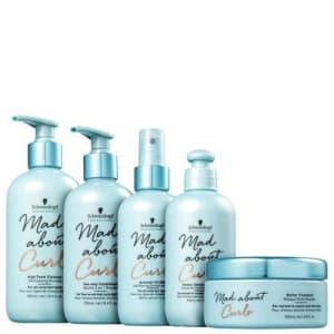 Kit Schwarzkopf Professional Mad About Curls Full High (5 Produtos)