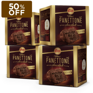 Mini Panettone Chocolate Nestlé (Leve 4 Pague 2) - NESCAFÉ