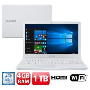 """Oferta ➤ Notebook Samsung Core i3-6006U 4GB 1TB Tela Full HD 15.6"""" Windows 10 Essentials E34 NP300E5L-KF2BR   . Veja essa promoção"""