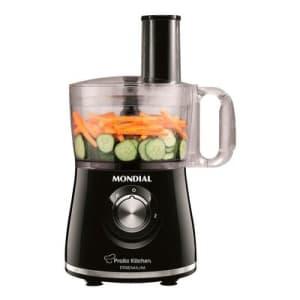 Multiprocessador Mondial Pratic Kitchen MP-13 500W Preto 110V