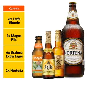 Kit Norteña + Estilos Cervejeiros (18 Garrafas)