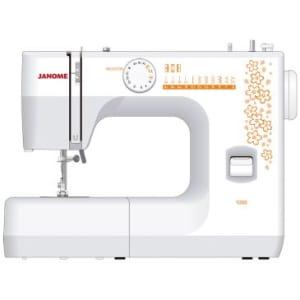 Máquina de Costura com 6 pontos Incluindo 1 Caseado para Botão Ideal para Patchwork e Customização Branca 1006 - Janome
