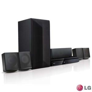 Home Theater LG com Blu-ray 3D, 5.1 Canais e 1000 Watts - LHB625M - LGLHB625M_PRD