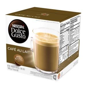 4 - Caixas de Café com Leite Pó Cápsula Nescafé Dolce Gusto 16 unidades 160g