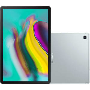"Tablet Samsung Galaxy Tab S5e 64GB Octa-Core 2.0GHz Wi-Fi + 4G Tela 10,5"" Android Pie - Prata"