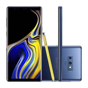 "Smartphone Samsung Galaxy Note 9 SM-N9600ZBJZTO 128GB Azul Tela 6.4"" Câmera 12MP Android 8.0"