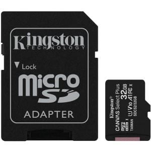 Confira ➤ Cartão de Memória Kingston Canvas Select Plus MicroSD 32GB Classe 10 com Adaptador para Câmeras Automática ❤️ Preço em Promoção ou Cupom Promocional de Desconto da Oferta Pode Expirar No Site Oficial ⭐ Comprar Barato é Aqui!