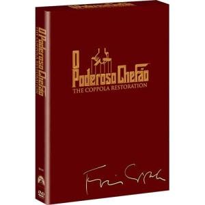 Box DVD Trilogia O Poderoso Chefão (3 DVDs)