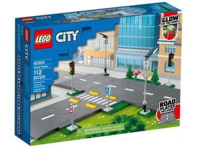 LEGO City Cruzamento de Avenidas 112 Peças 60304