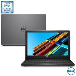 """Notebook Dell i15-3576-A61 Intel Core i5 8250U 15,6"""" 8GB HD 2 TB Radeon 520 Windows 10"""