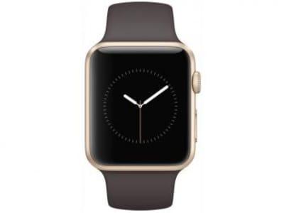 Apple Watch Series 1 42mm Alumínio 8GB Esportiva - Bluetooth Wifi Resistente à respingos de água Marrom