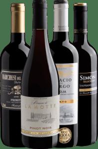 Kit 4 Vinhos Uvas Clássicas