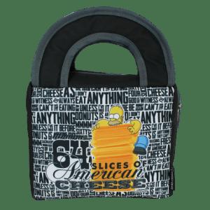 Lancheira Térmica Zonacriativa Simpsons Homer Queijo