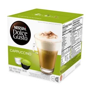 4 - Caixas de Cappuccino Nescafé Dolce Gusto 200g