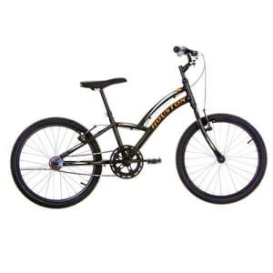Bicicleta Infantil Aro 20 Houston Triton - Preta