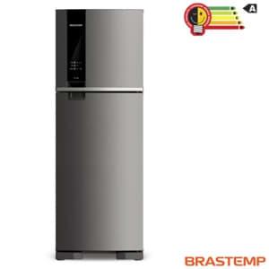 Refrigerador de 02 Portas Brastemp Frost Free com 375 Litros com Painel Eletrônico Inox - BRM45HK - BRBRM45HK_PRD