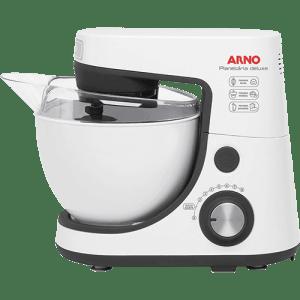 Batedeira Planetária Arno Deluxe Branca SX80 8 Velocidades Soft Start Branca - 300W