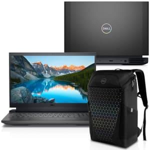 "[APP] - Notebook Gamer Dell 15.6"" FHD i7-11800H 16GB RAM 512GB SSD Nvidia RTX 3060 W11 G15-I1100-M50pb + Mochila"