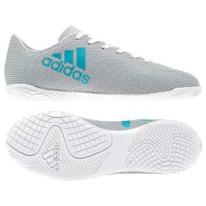 Chuteira Futsal Infantil Adidas X 17.4 IN - Branco e212ae7966e58