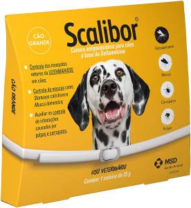 Coleira Antiparasitária Scalibor 65cm Scalibor Para Cães, 65cm