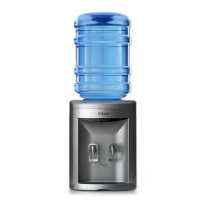 Bebedouro de Garrafão IBBL Compact FN 2000 Água Natural e Gelada Prata 110V