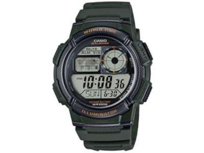 Relógio Masculino Casio Digital - AE-1000W-3AVDF Verde