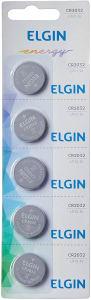 Bateria de Litio Elgin CR 2032 C/5 82193