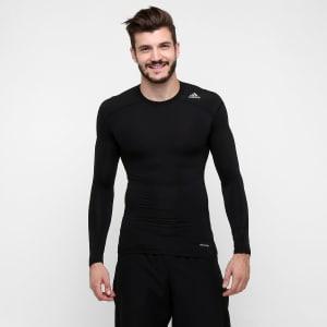 Camiseta Adidasl Tf Base - Preto