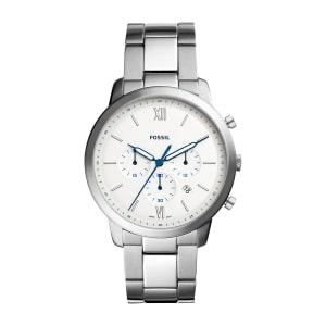 Relógio Fossil Neutra Chrono Masculino Prata Analógico FS5433/1KN