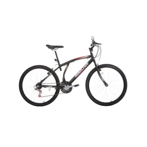 Bicicleta Aro 26 Houston 21 Marchas Altantis Mad ATN261Q Lazer Preta